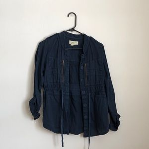 Urban Outfitters Navy Jacket